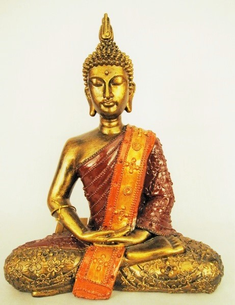"Buddha Gold Colors ""Thailand Meditating"""