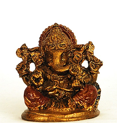 Ganesha Gold and Color Liten