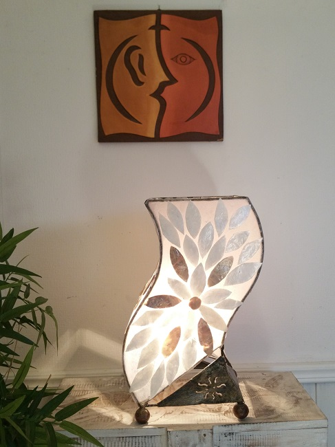 Lampa Shells Flower Wave