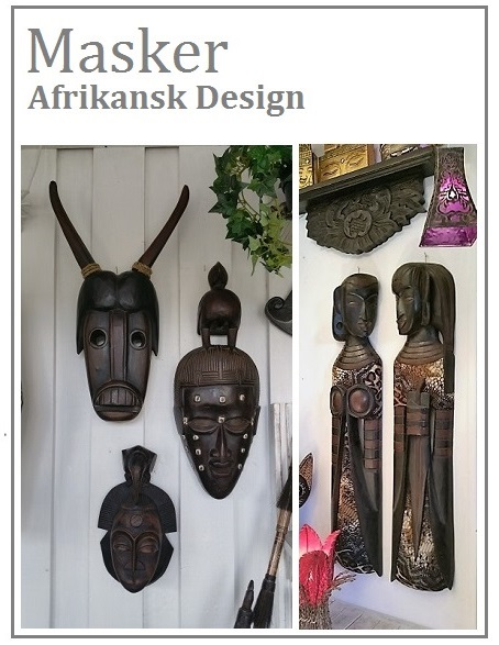Mask - Afrikansk design
