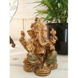 Ganesha Gold and Color