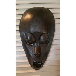 Mask Lombok Head Plain 35cm