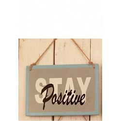 Text: STAY Positive